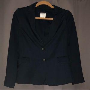 Navy cotton blazer